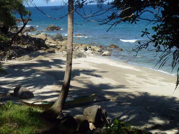 the beaches at Munting Buhangin Beach